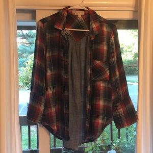 Cloth an stone cotton flannel checkered shirt